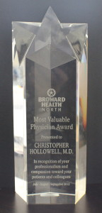 Dr Hollowell Award