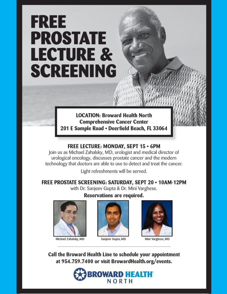 Prostate Lecture September 2014